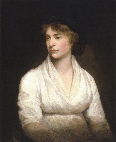 Mary Wollstonecraft by John Opie c. 1797 - Neuroimaging zeigt Landkarte der Emotionen