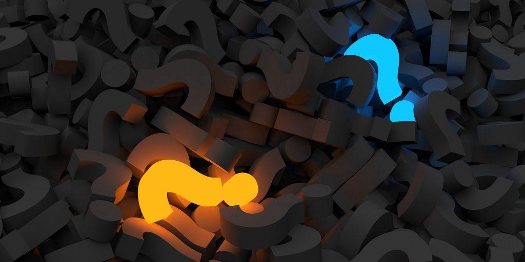 question marks 1024x512 - Psychotherapie von A bis Z
