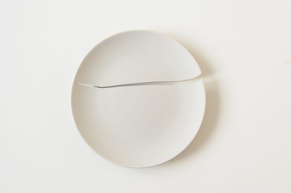 acceptance broken plate