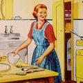 fifties housewife kitchen 120x120 - Remote Leadership: Mobile Arbeit gesund gestalten