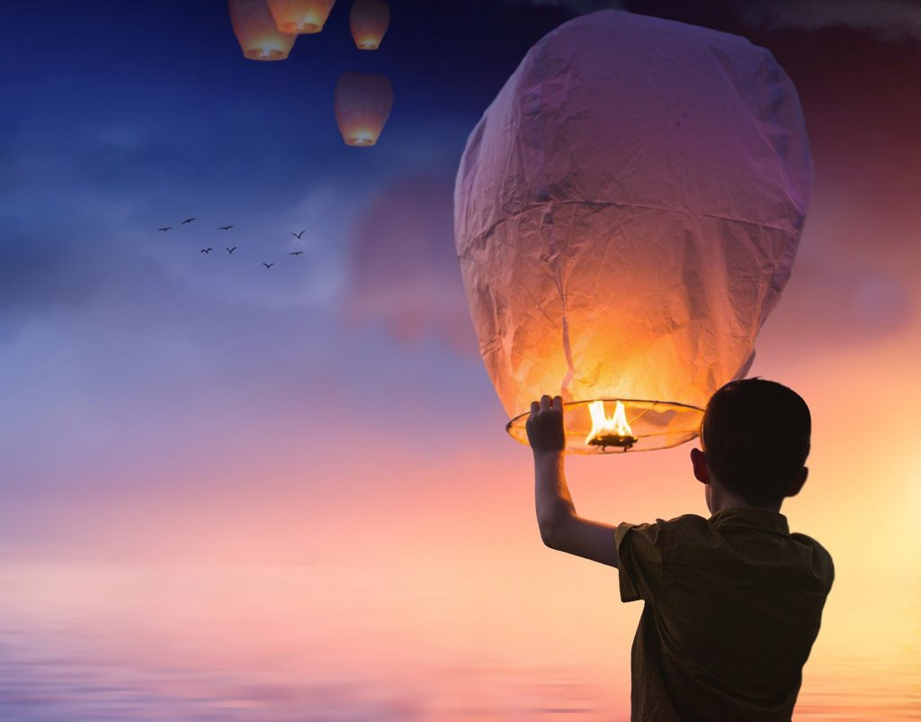 letting go balloon 1024x802 - The 7 pillars of mindfulness - #2 patience