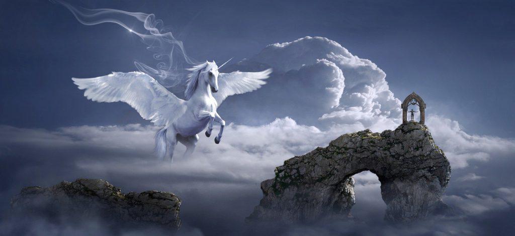 autistic fantasy pegasus horse