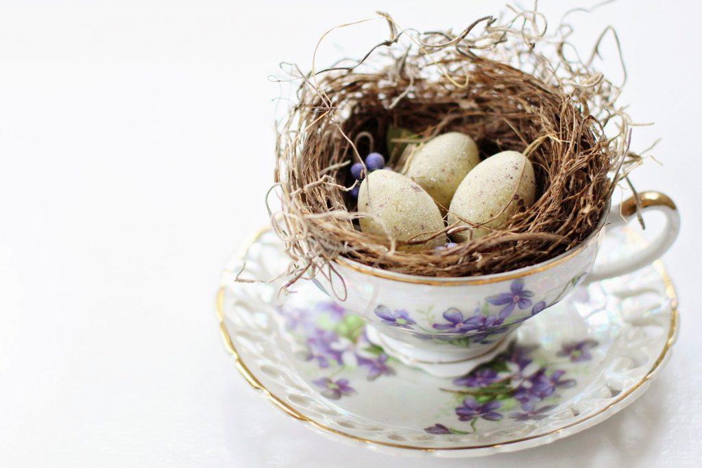 beginner's mind tea cup eggs