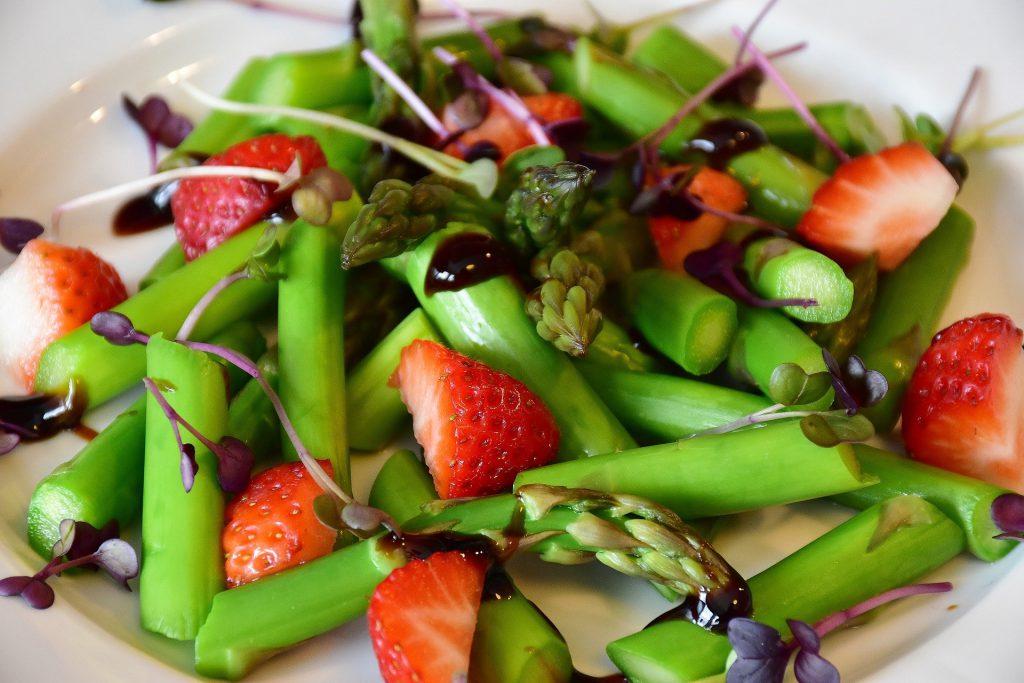 Home Office Asparagus Salad