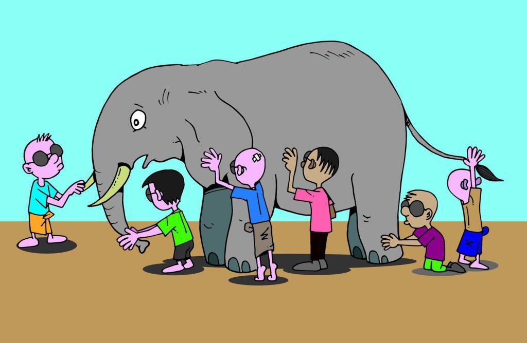 Alexithymia Blinde Elefant