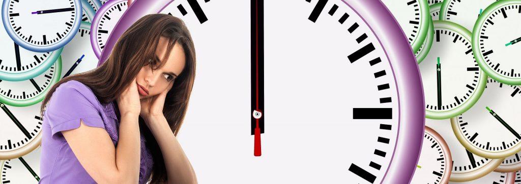 Strukturierung Time Woman Clocks
