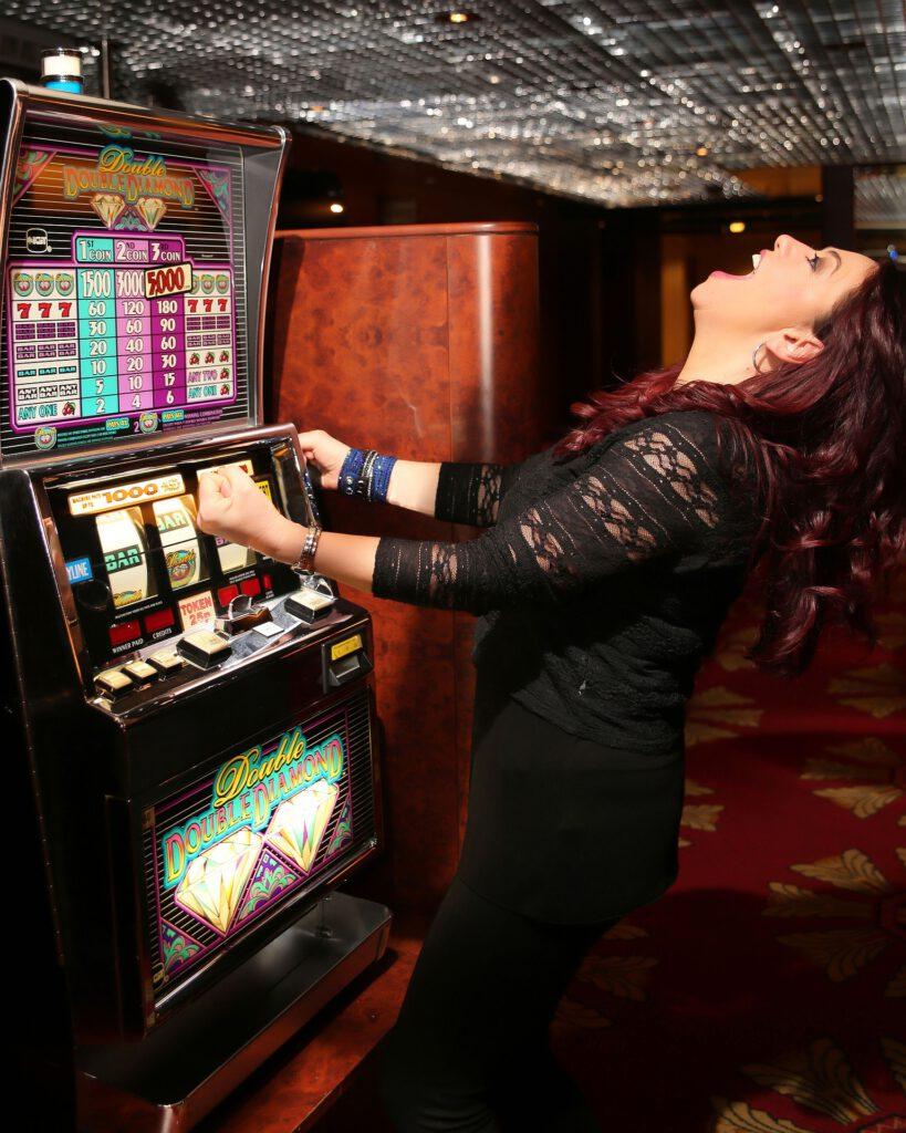 Winning Casino Woman Glücksspielsucht